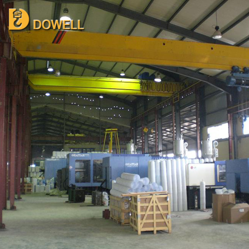 Electric Hoist Single Girder workshop customized 10 ton electric overhead travelling crane