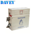 Portable stainless steel commercial steam generator for wet sauna room use