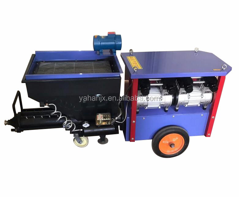 Hot product wall painting cement mortar plaster spraying machine construction machinery