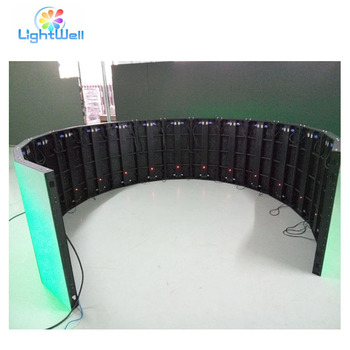 Full Color Tube Chip Color and 6.25mm Pixels full xxx led video curtain screen
