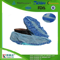 Disposable non-woven shoe cover spot direct sales wholesale multi color optional medical PP shoe cover