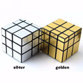 Newest 3x3x3 Mirror Blocks Silver stickers Shiny Magic Cube Puzzle cube