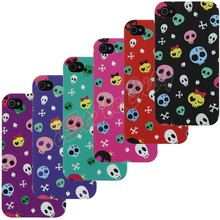 Skull Glow in the Dark Mobile Phone Case for iPhone 4 5 6