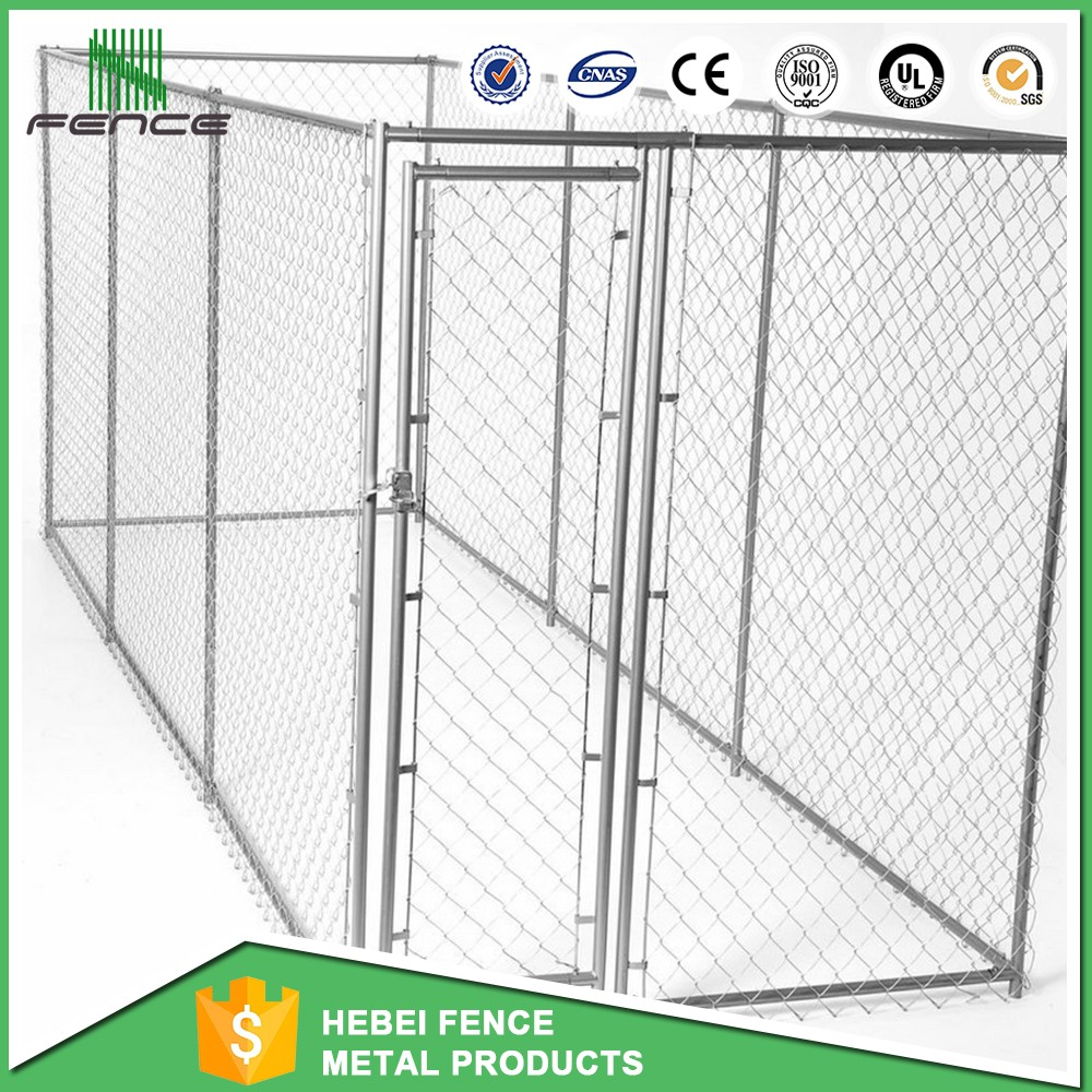 Factory direct sale dog kennel / 6ft Metal dog cage with lowest price