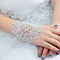 Bridal Rhinestone Crystal Arm Bracelet Armband Women Wedding Jewelry women bangles