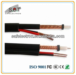 Good Quality Coaxial Cable RG59 with Power Cable Siamese China Supplier