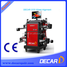 Bluetooth laser measure CCD wheel alignment and balancing machine