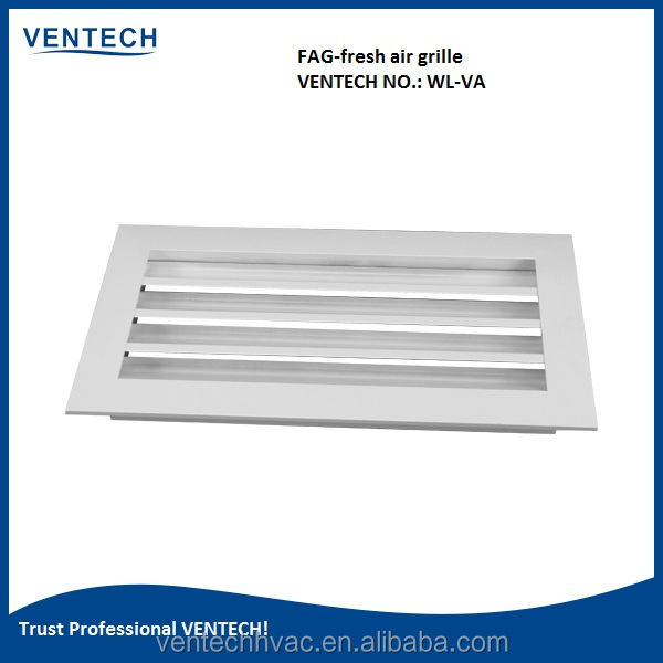 HVAC systems air conditioning waterproof aluminum exterior louver