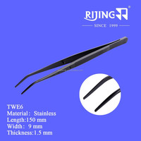 Sewing machine parts accessories Twe6 / high precision stainless steel tweezers