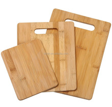 Wholesale HOME & KITCHEN Totally Bamboo 3 Piece Bamboo Cutting Board Set Durable Chopping Board Promotion Products