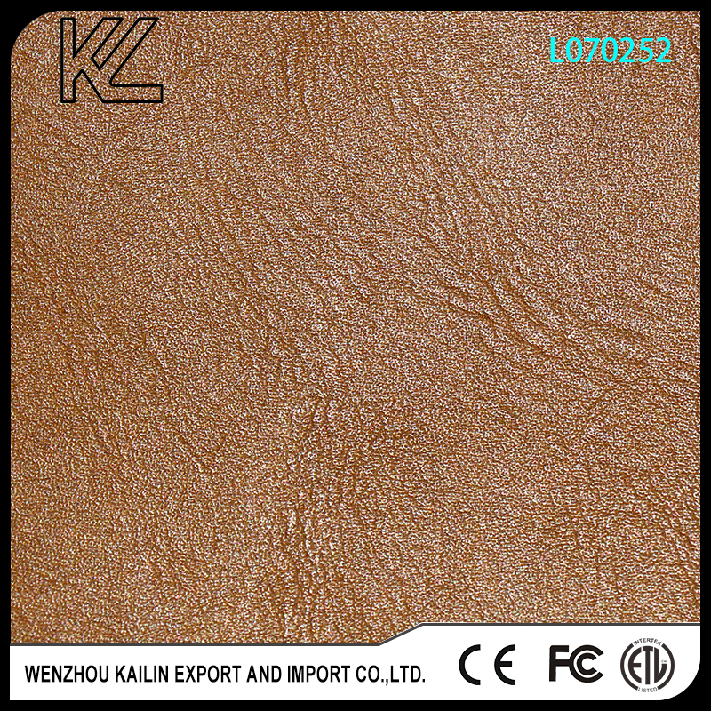 L070252 bag leather goods for lady shoes or bags upper PU leather