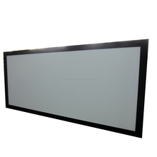 "HOT SELL 72"" fixed frame screen wiht silver screen"