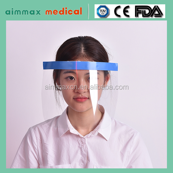 clear film medical protecting Face Shield Mask