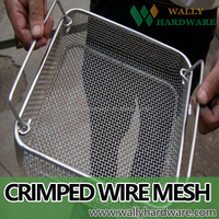 kitchen baskets, stainless grill grates, barbecue crimped mesh