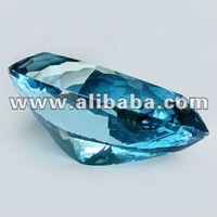 World's Rarest & Largest Collector's Gem -Super Swiss Blue Topaz - NR