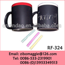 Straight 11OZ Wholesale Ceramic Cup with Assorted Color for Promotional Tea Cup