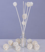 rattan diffuser stick with rattan ball