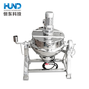 Stainless steel electric/ gas heating jacketed cooking kettle for jam & sugar cooker