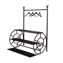 Metal display stand/racks for clothing exhibitions, Garment showrooms