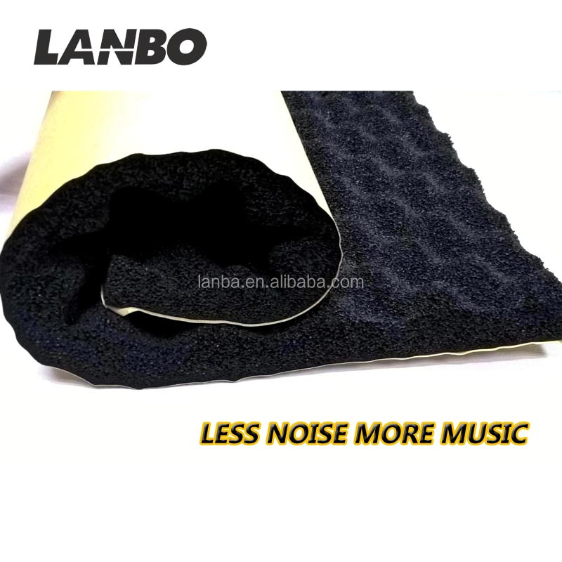 Most welcome and top quality car accessories car sound proofing kit,foam rubber