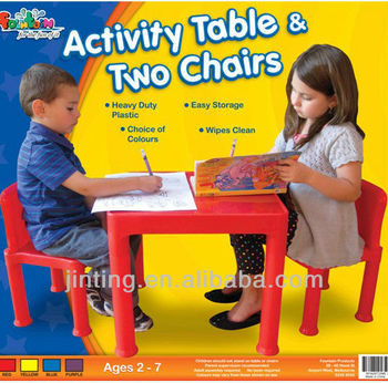 table and 2 chairs for kids,table and chair set,plastic table and chair
