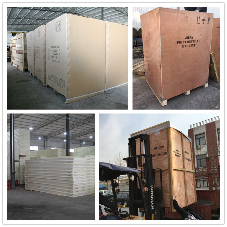 penumatic polyurethane spray/injection foam machine for wall/roof insulation
