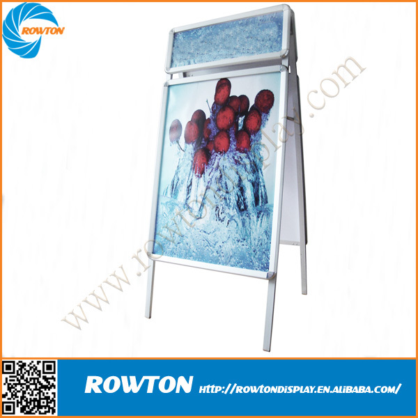 Qualified Poster display stand, 32mm profile A Board, Advertising display board