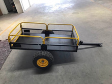 300kg metal wagon cart, garden tool cart tc1804a,beach wagon cart