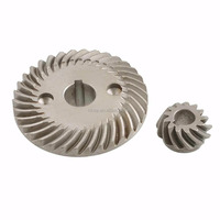 Precision customized steel gear, steel spiral bevel gear China manufacturer