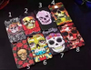 Horrible ghost face hard PC skin phone case for iPhone6s/6s plus /6/6plus