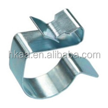 Stamping factory service wire holding clip,wire mounting clip