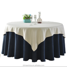 72 inch Square Polyester Tablecloth Overlay - Wedding banquet tablecloths for sale Party Decoration