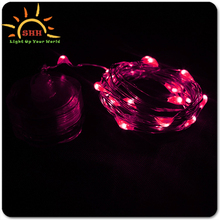 2016 New Wedding Decor CR2032 Batteries Operated LED string Light Up LED Light for Outdoor decoration