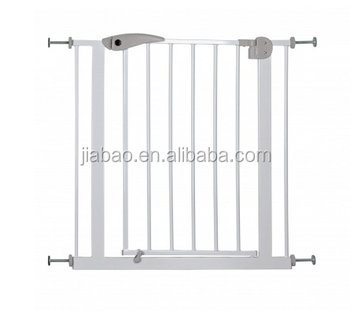 2018 new design metal Pet friendly kids safety gates baby safety gate
