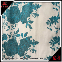 Nice design cheap jacquard polyester cotton fabric samples