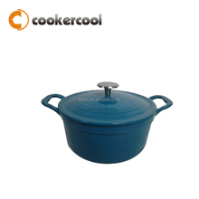OEM Supported Cheap Chinese Enamel Cast Iron Pan Support With Lid