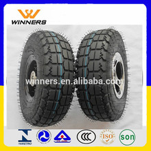 rubber wheels and tires for karting 3.50-4