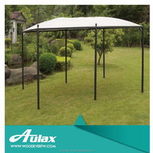 Galvanized iron outdoor furniture pvc wrought iron garden gazebo