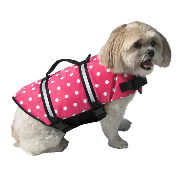 Outdoor Dogs Safety Pet Life Jackets For Swimming