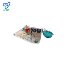 Wholesale fashion promotion microfibre eyeglasses cleaning cloth