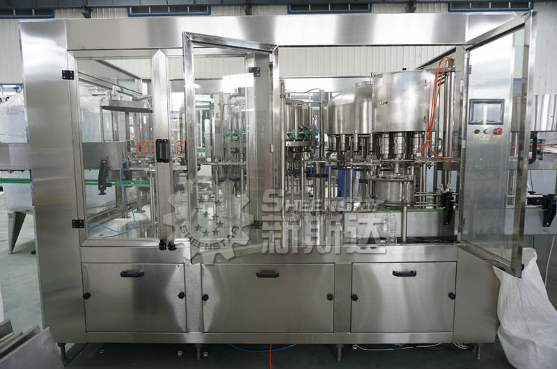 RXGF18-18-18-6 4 in 1 Fruit Juice Production Line In China