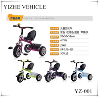 Comfortable tricycle for kids/3 wheel balance kids bike/Cheap kids ride on car