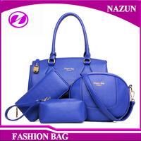 NEW Fashion Design Bag Blue Purse Lady Leather France Brand Handbag
