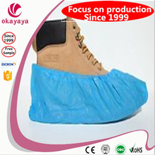 Cheap disposable New products Nonwoven Disposable white/blue/green Anti-skid shoecover health care products for home use