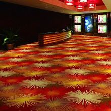 Wall To Wall Nylon Printed Casino Carpet For Sale