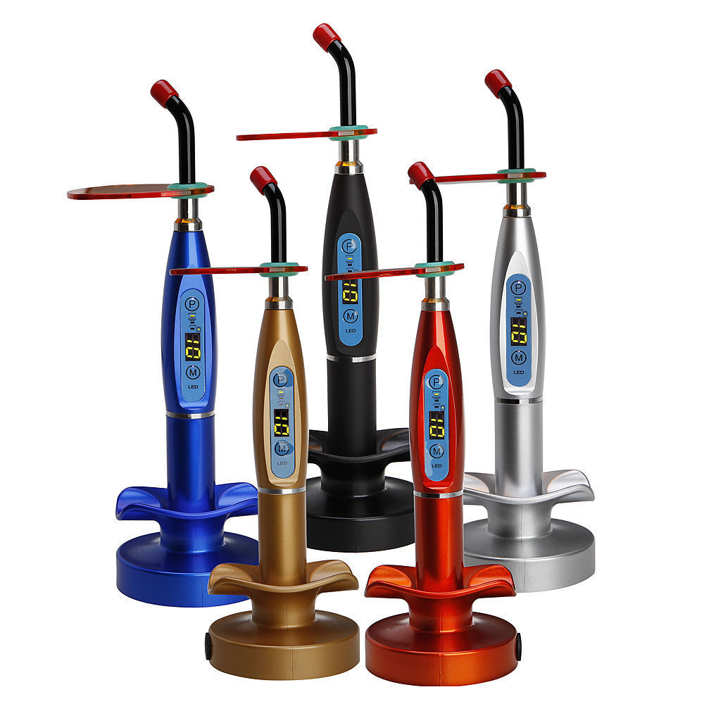 Dental Curing Light Lamp LED Light Cordless Wireless Light cure
