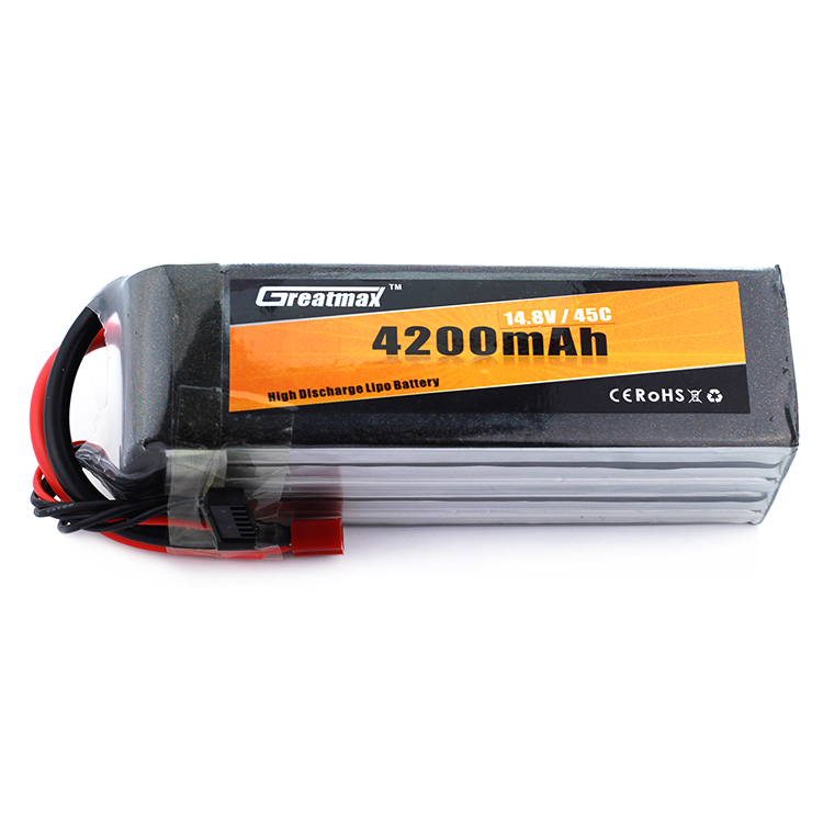 High Power Greatmax 4200mah 14.8v 4s 45c RC Ge Power Lipo Battery