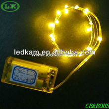 LK led light string with battery powered