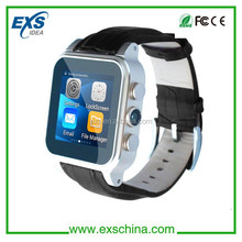 wireless watch mobile phone water resistant capacitive touch screen watch phone