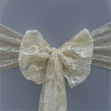 Lace Chair Sash for Banquet Decoration